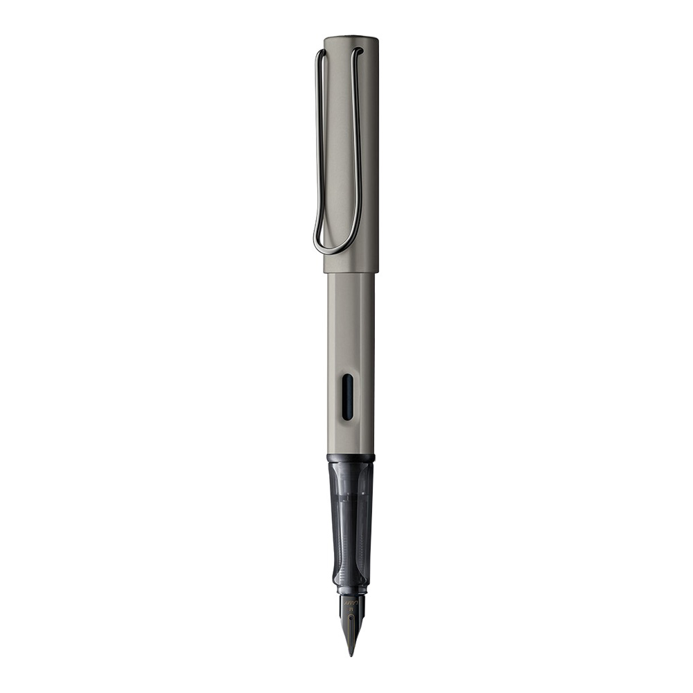 Lamy Lx Ruthenium Medium Point Fountain Pen Front