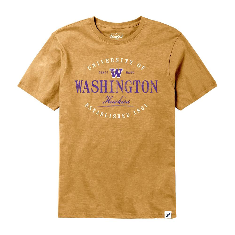 reputable site ef38c 89fcc League Men's University of Washington Slub Tee