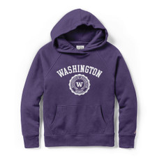 League Women's Washington Seal Academy Hoodie – Purple