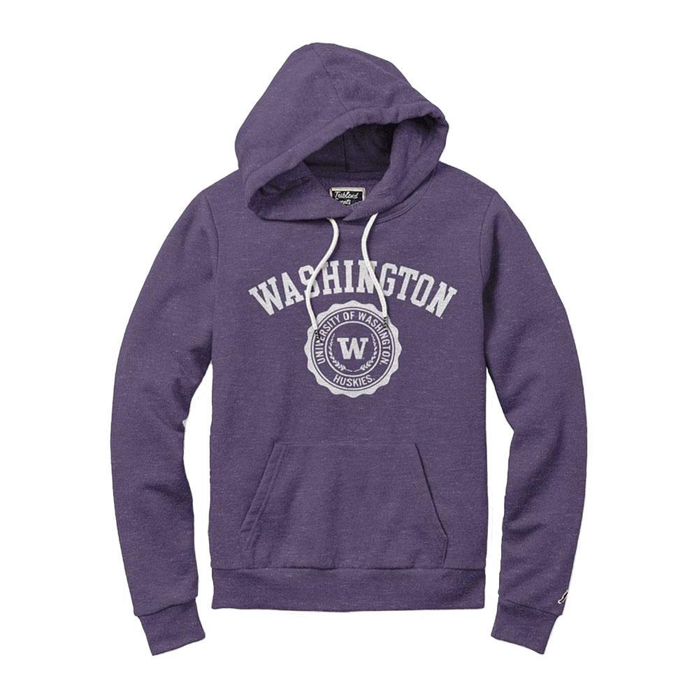 League Women's Washington Seal Victory Springs Hoodie – Purple