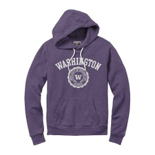 League Women's Washington Seal Victory Springs Hoodie – Purple