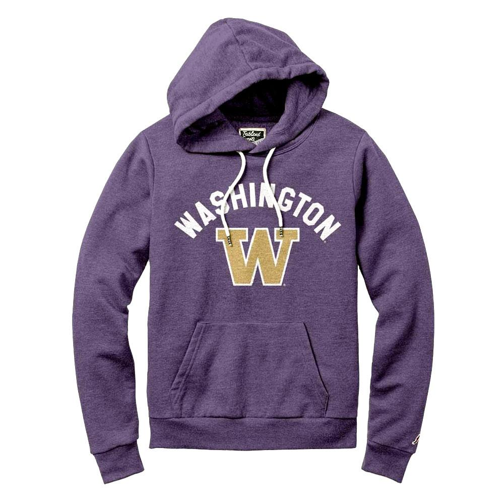 League Women's Washington W Victory Springs Hoodie – Purple