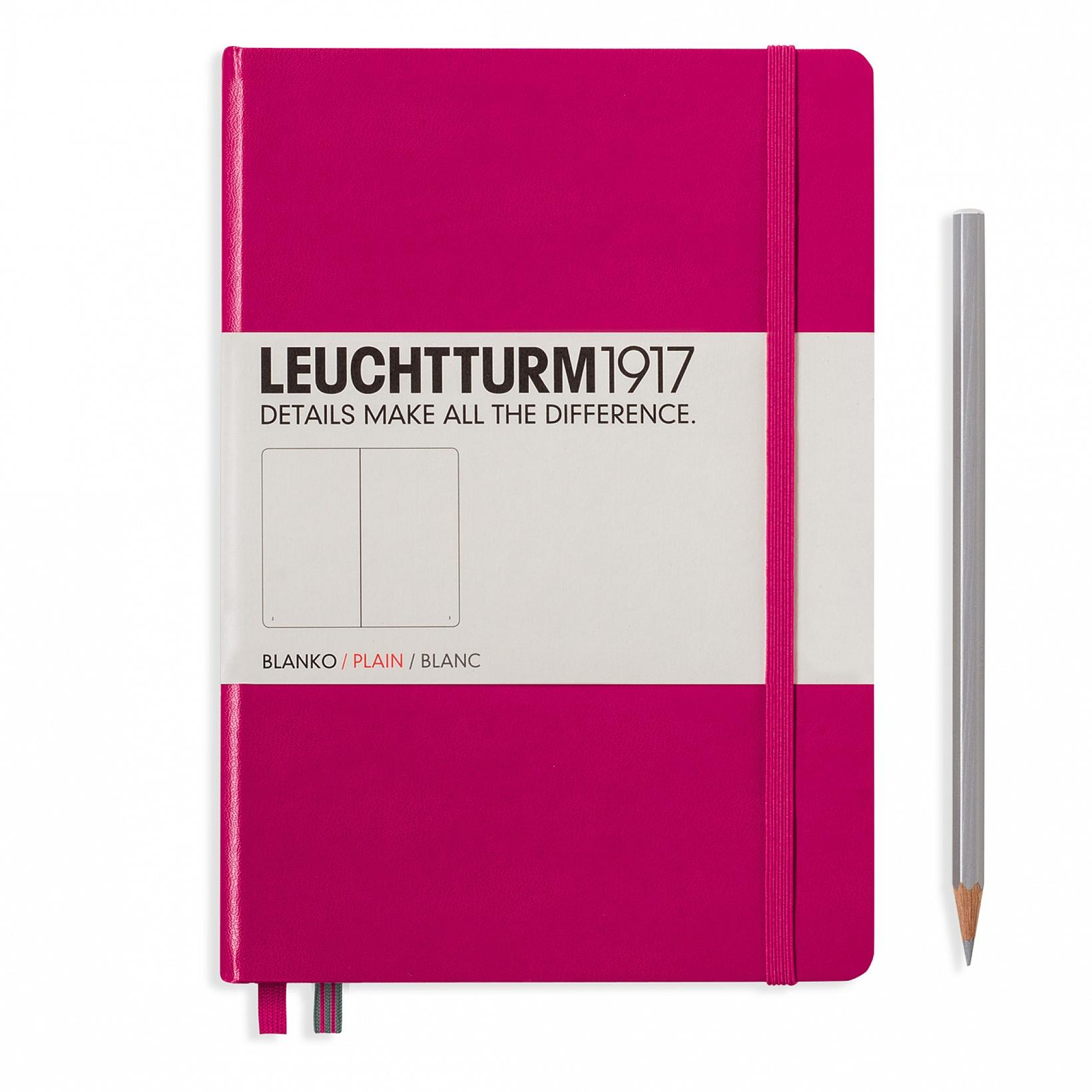 Leuchtturm 1917 A5 Medium Hardcover 249ct Berry Plain