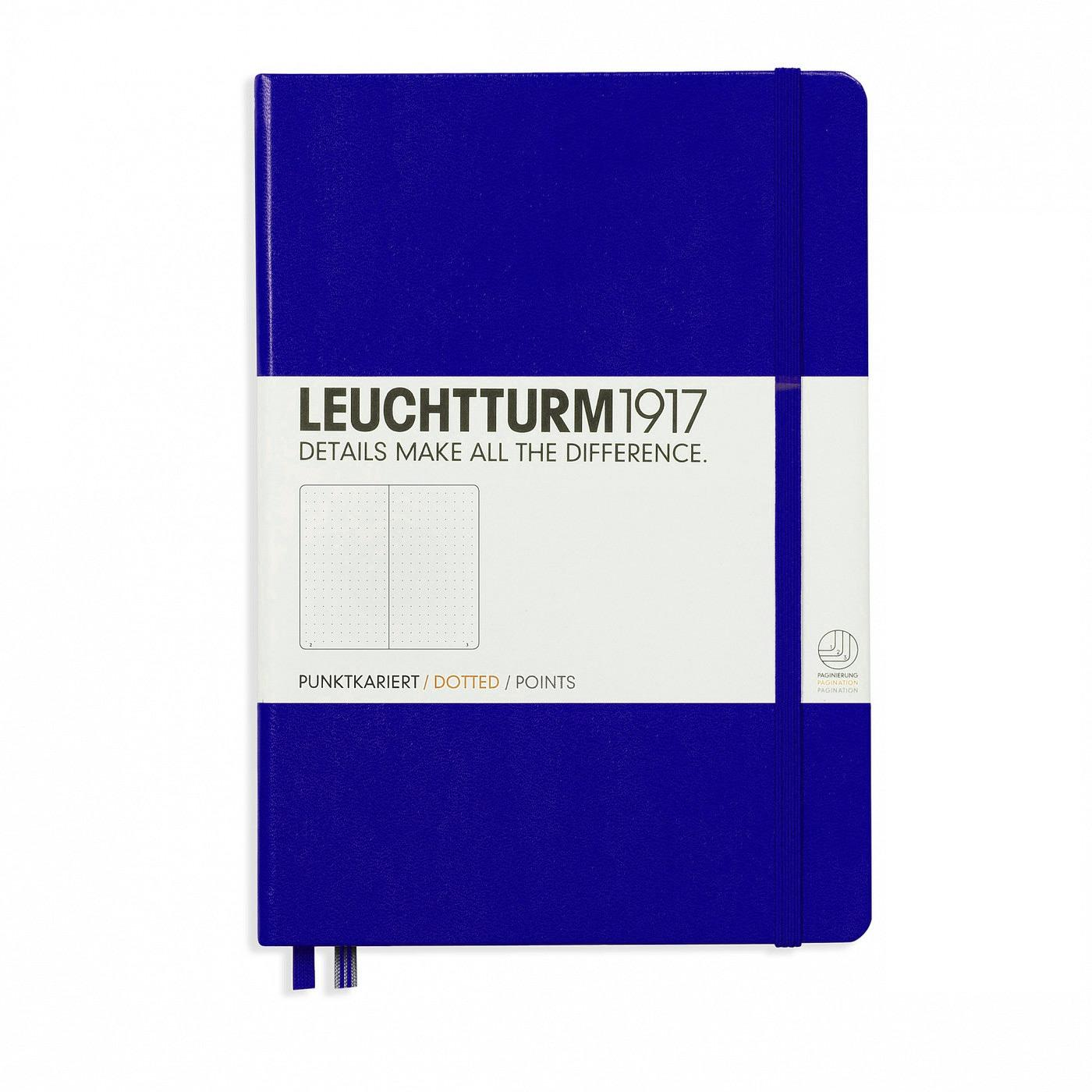 Leuchtturm-1917-A5-Medium-Hardcover-249ct – Purple – Dotted