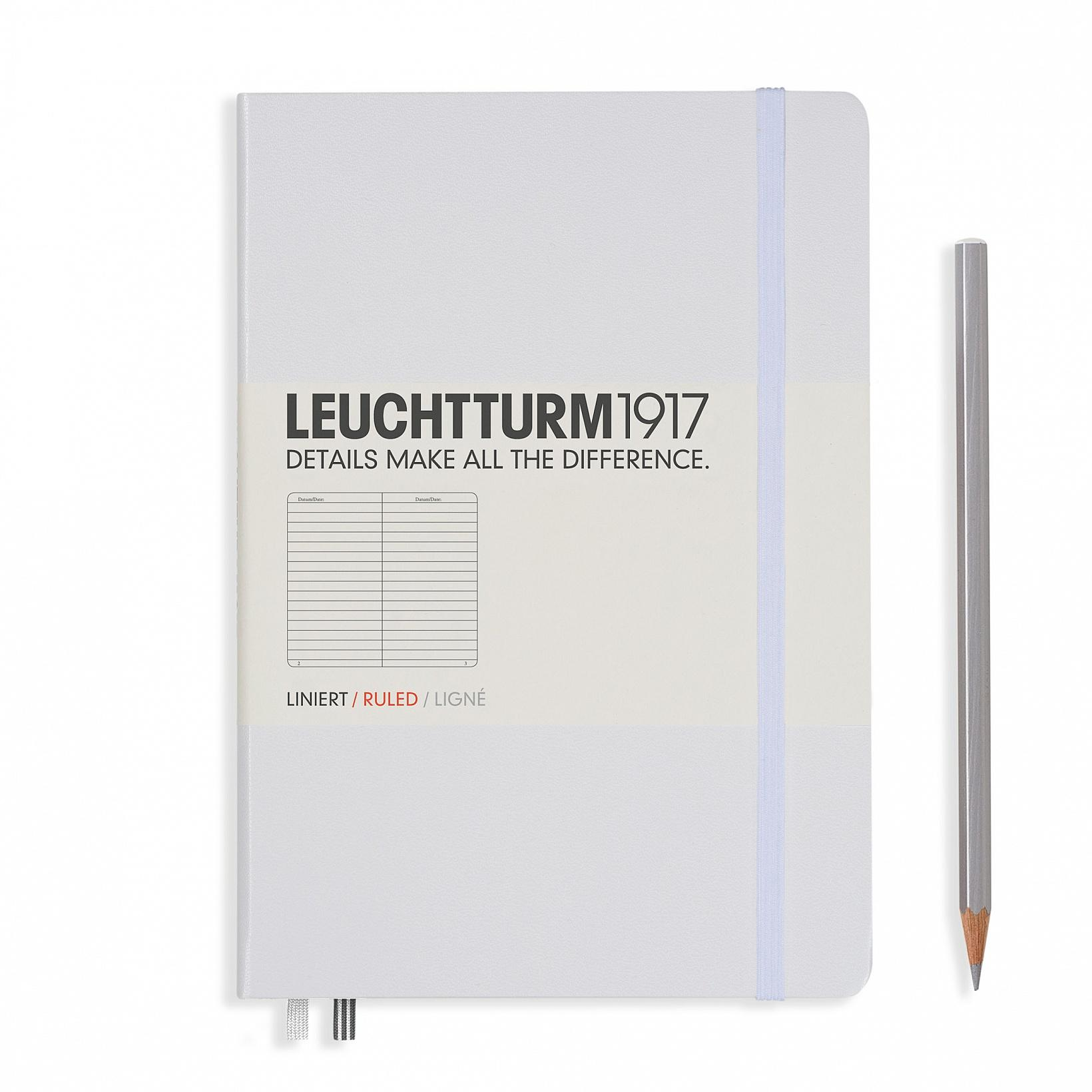Leuchtturm 1917 A5 Medium Hardcover 249ct White Ruled