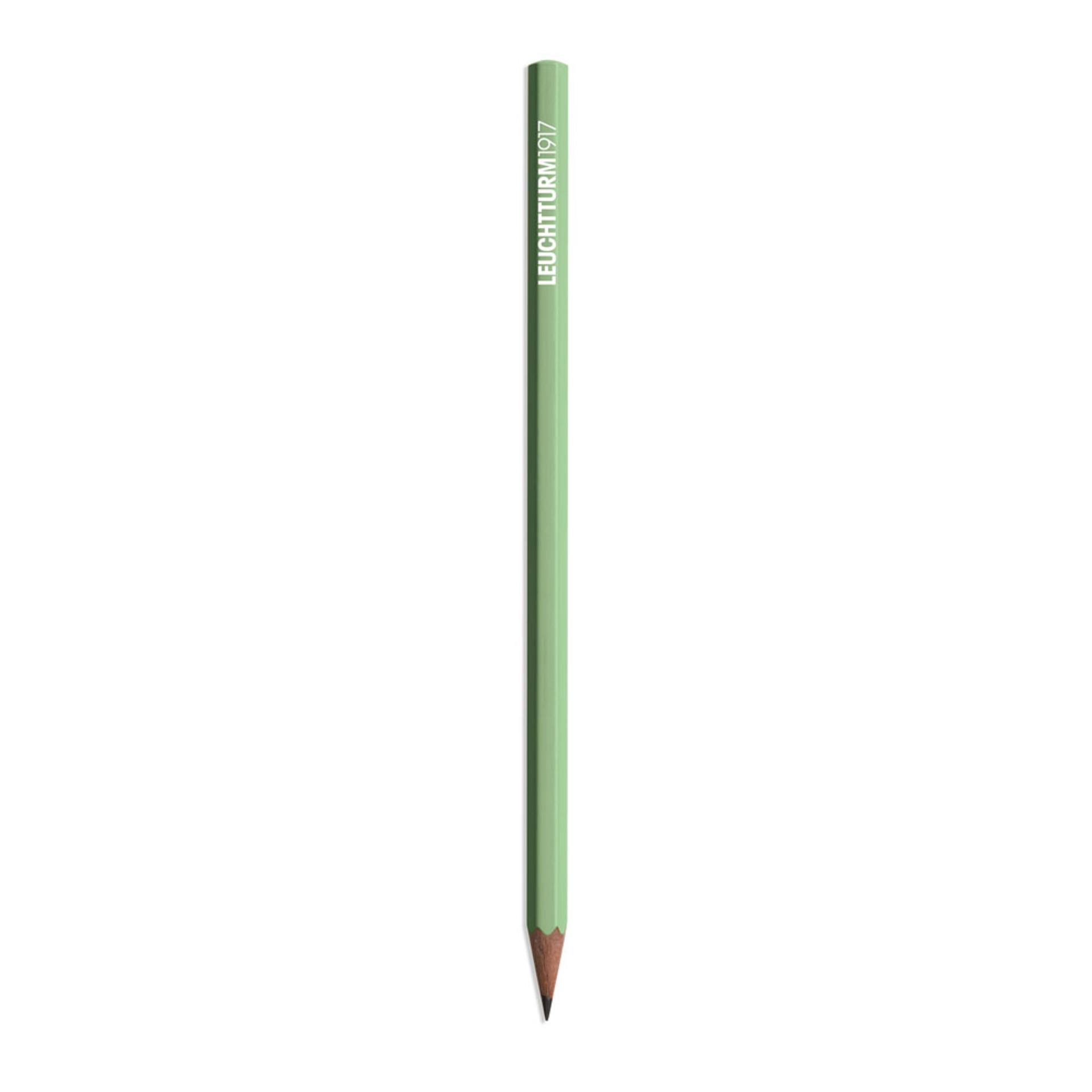 Leuchtturm 1917 Black HB Lead Woodcase Pencil – Sage