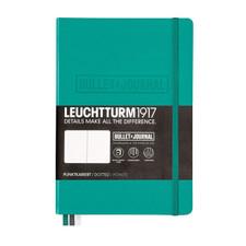 Leuchtturm 1917 Dotted A5 Medium Bullet Journal Emerald