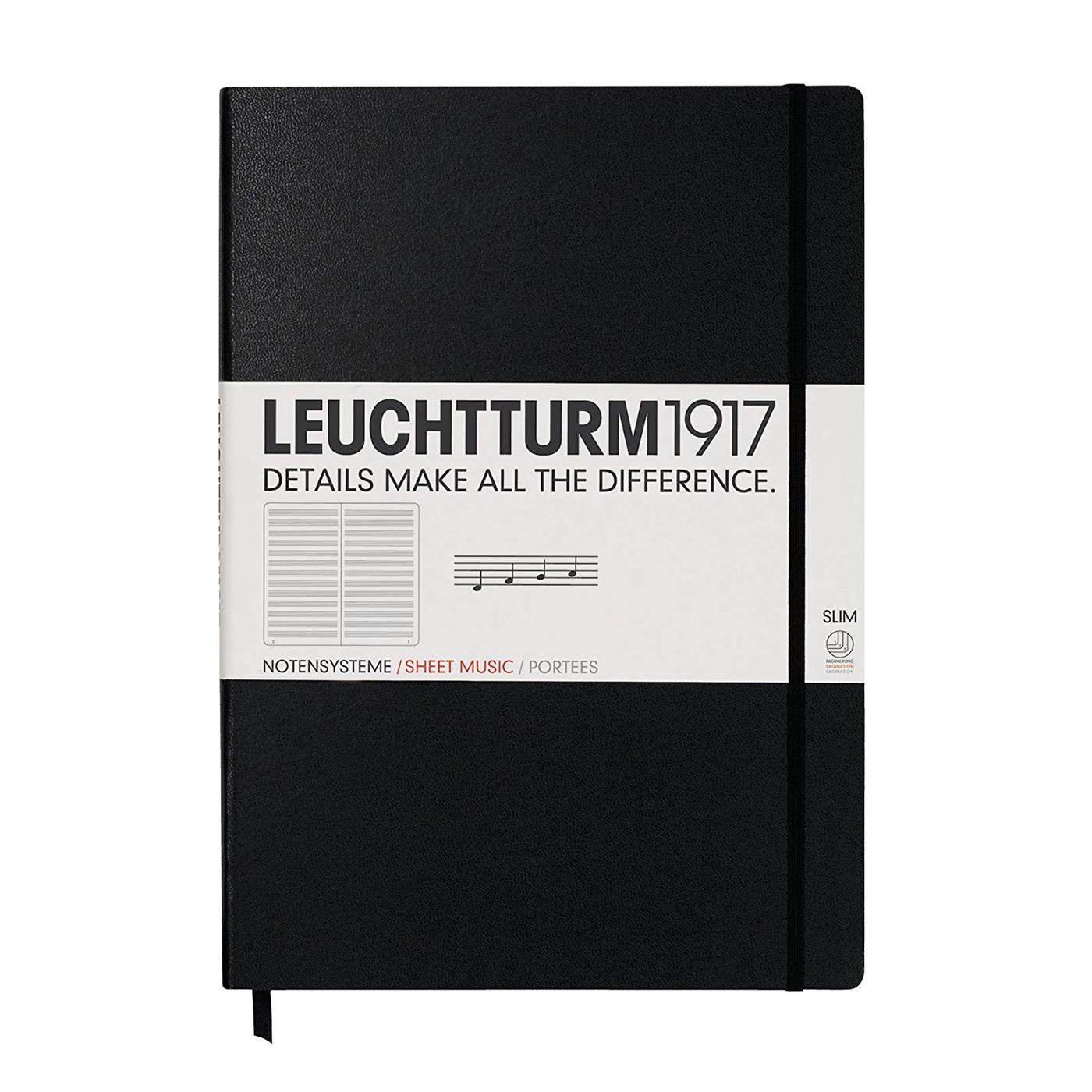 Leuchtturm 1917 Staved Master Slim A4+ Hardcover Notebook