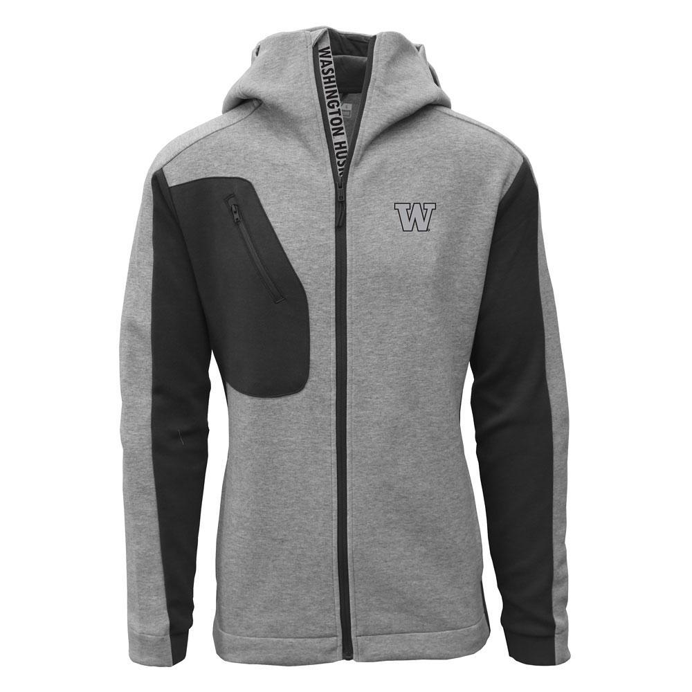 Levelwear Men's W Havoc Full-zip Hoodie – Gray