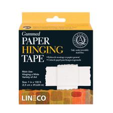 Lineco White Framing Hinging Gummed Paper Tape