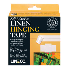 """Lineco Linen Hinging Tape 11/4""""x35'"""