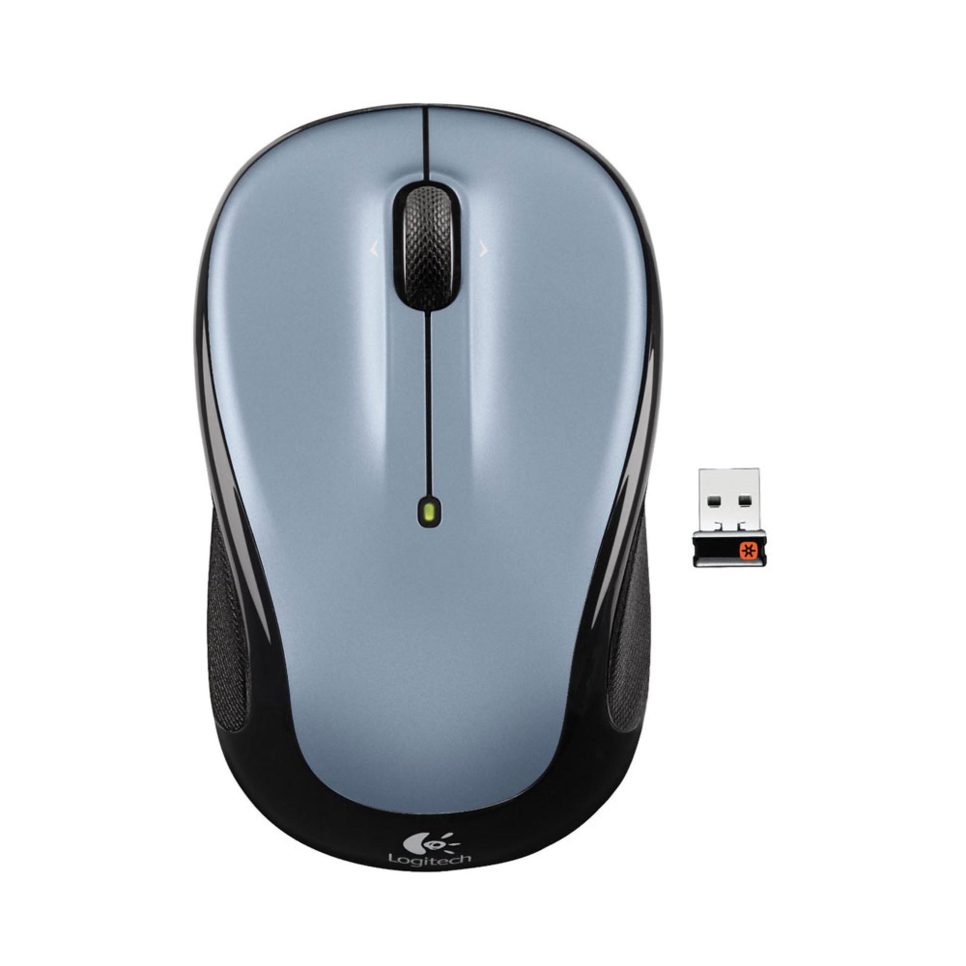 Logitech M325 Wireless Mouse Silver
