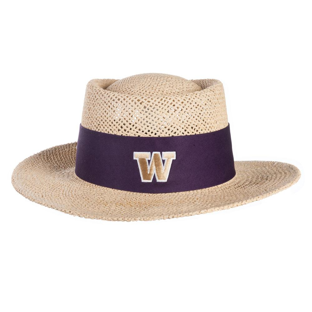 6ad98a87d554a Logofit Unisex Birch W Tournament Straw Gambler Hat