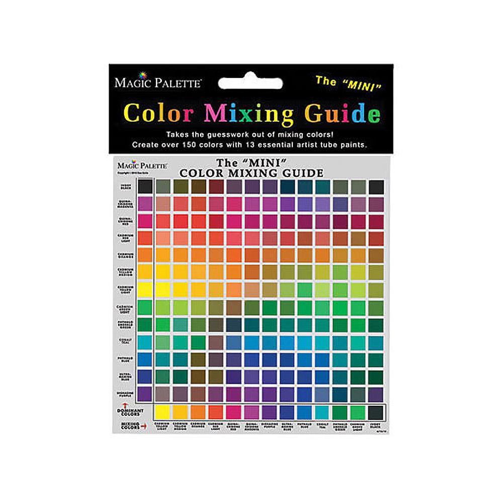 "Magic Palette Color Mixing Guide 11.5"" x11.5"""