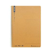 Maruman B5 Ruled 6.5mm Basic Spiral 1 Subject Notebook
