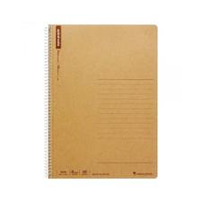 Maruman B5 Ruled 8mm Basic Spiral 1 Subject Notebook