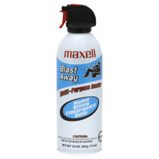 Maxell Blast Away Compressed Gas Duster