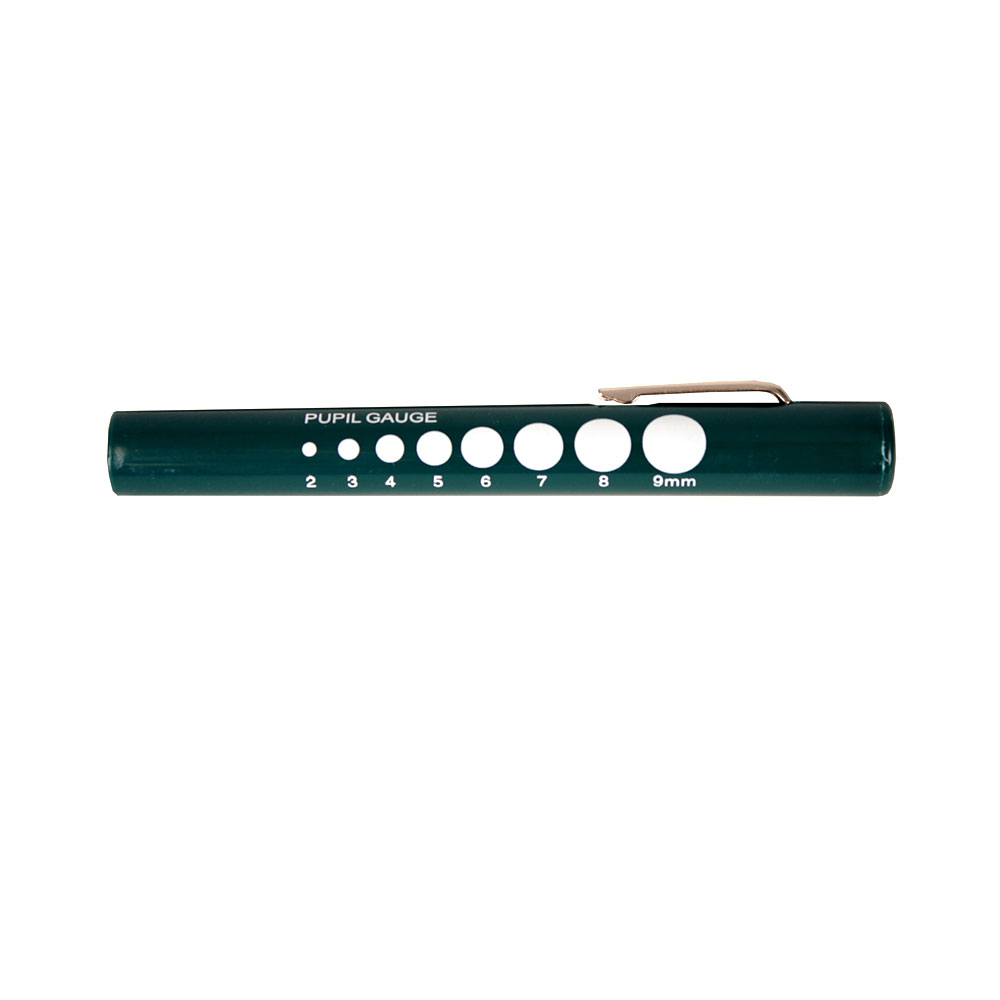 McCoy Disposable Penlight With Pupil Gauge – Hunter Green