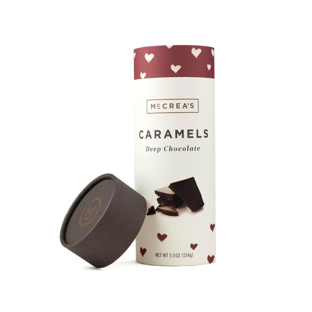 McCrea's Deep Chocolate Caramels Tube