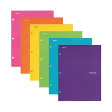 Five Star Assorted 4 Pocket Laminated Folder – Assorted Colors