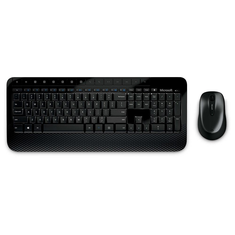 Microsoft BK 2000 Wireless Keyboard and Mouse