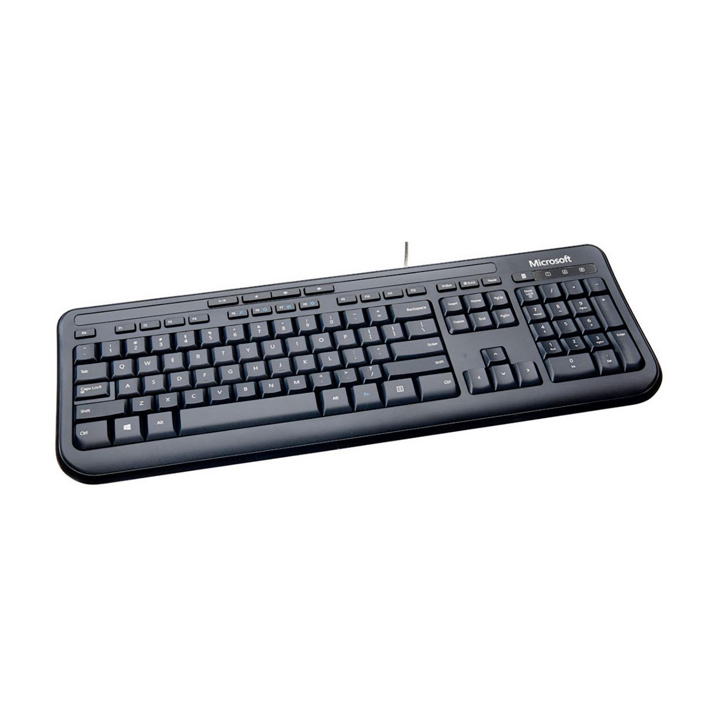 Microsoft 600 Wired Keyboard Black