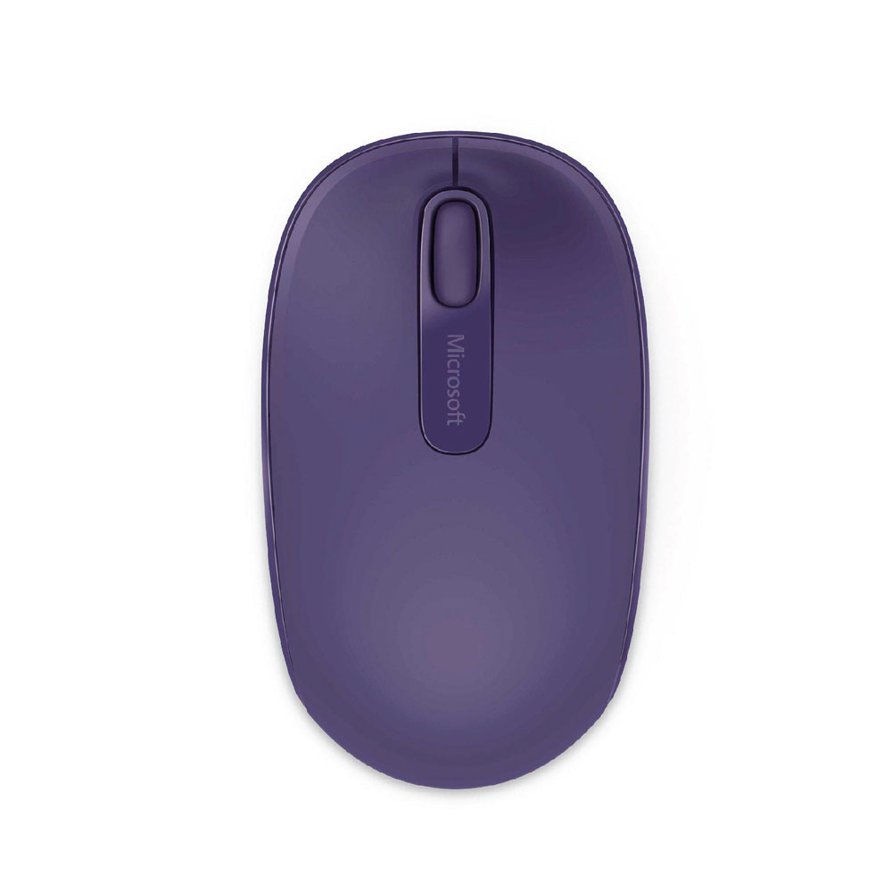 Microsoft Purple 1850 Wireless Mouse