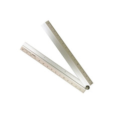 Midori Multi Ruler And Protractor Aluminum 30""