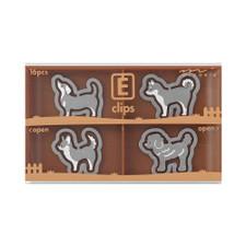 Midori Dog Etching E-Clips 16 Count