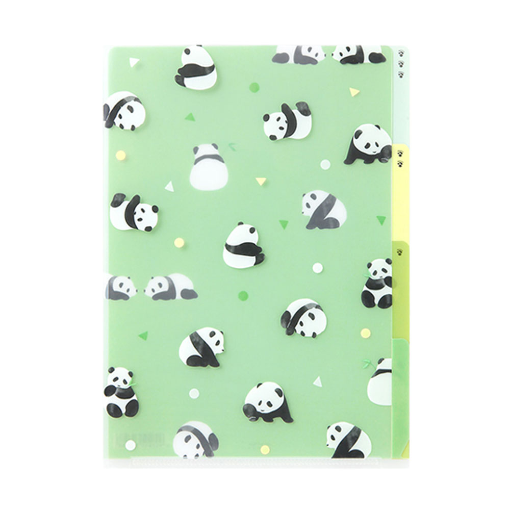 Midori Panda A5 Three Pocket Copy Holder