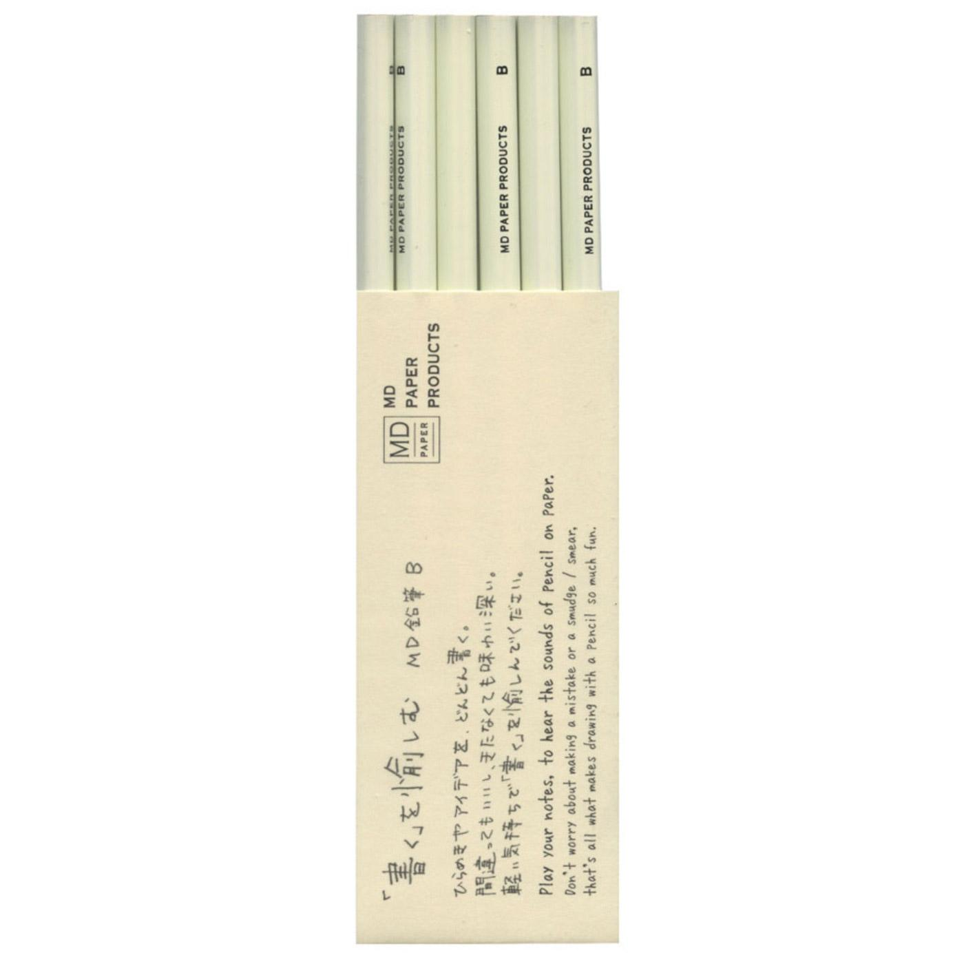 Midori Pencil Set 6 Count