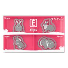 Midori Rabbit Etching E-Clips 16 Count