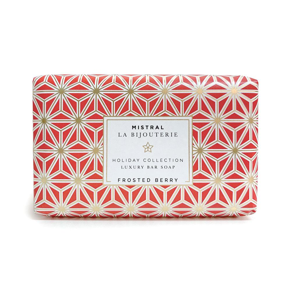 Mistral Frosted Berry Jewels Bar Soap