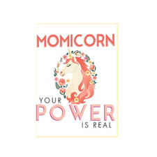 Momicorn Her Power Is Real Greeting Card