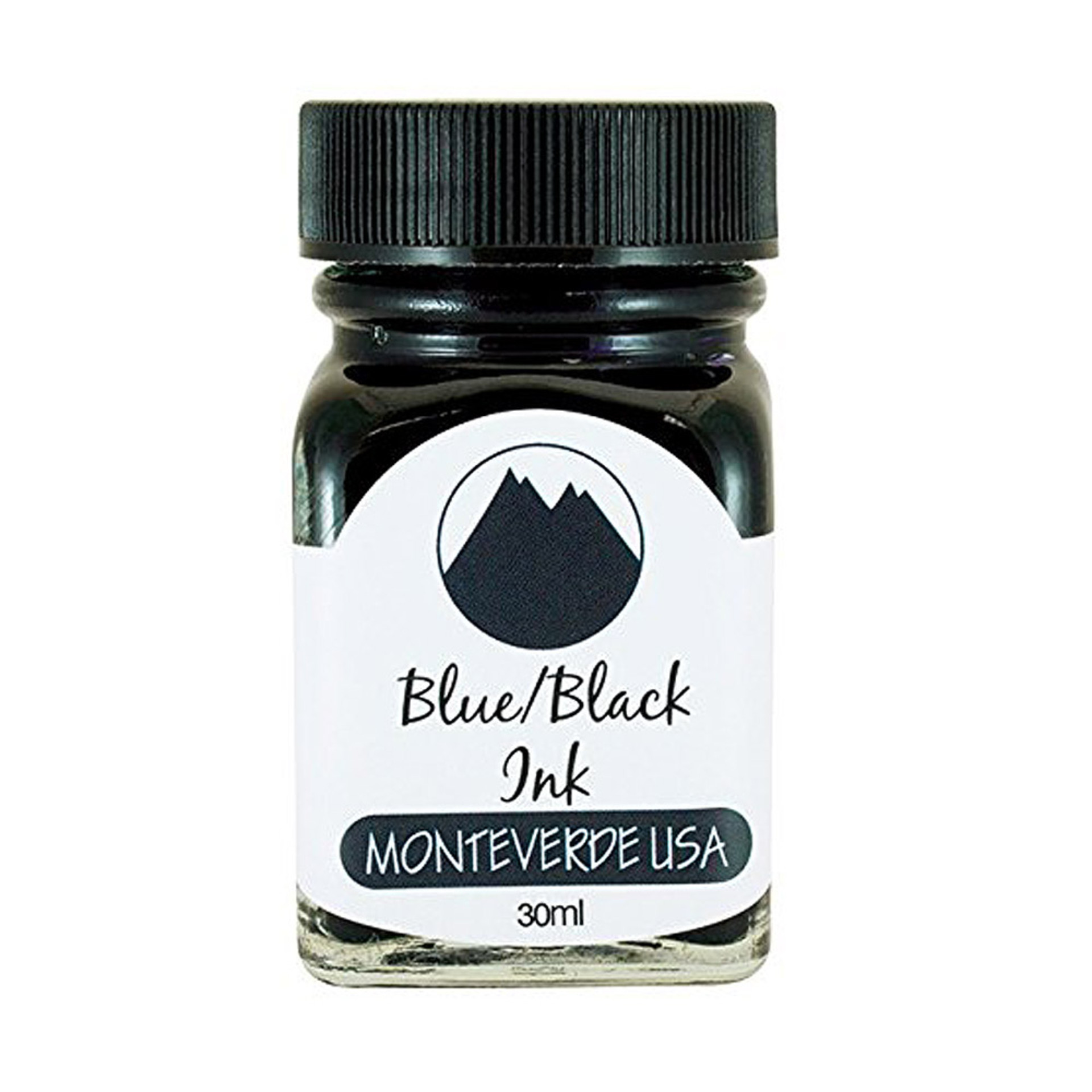 Monteverde 30ml Fountain Pen Ink Blue Black