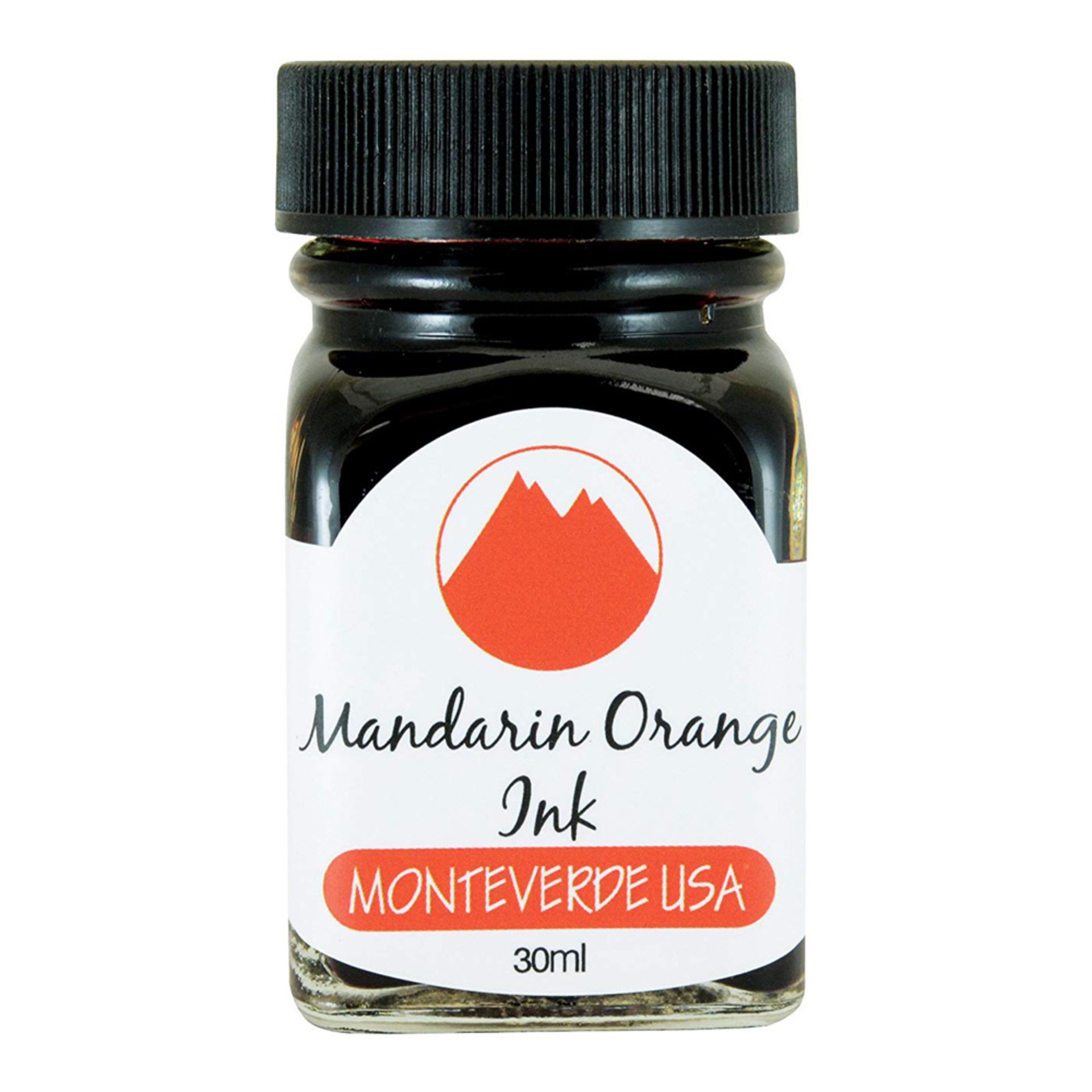 Monteverde 30ml Fountain Pen Ink Mandarin