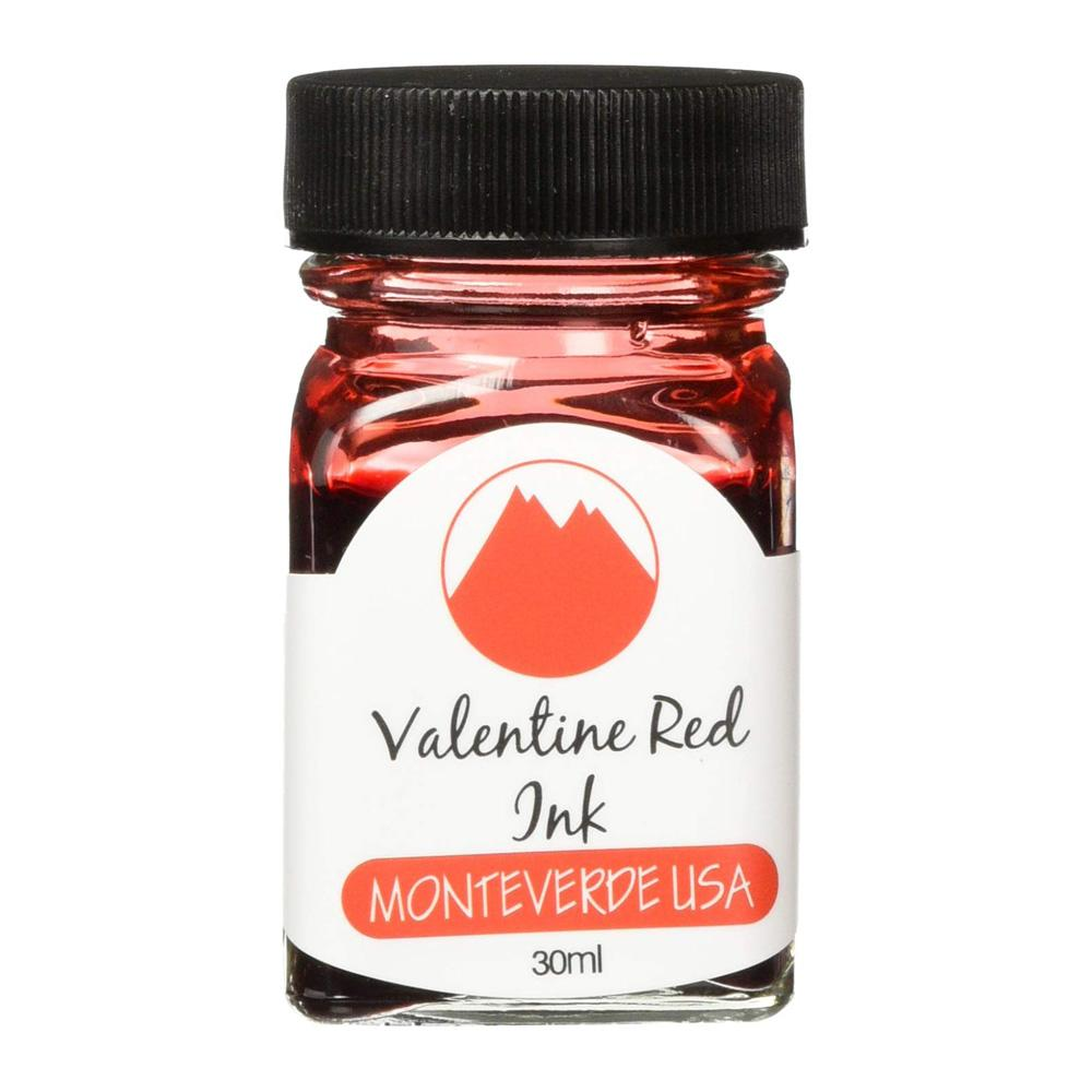 Monteverde 30ml Fountain Pen Ink Red