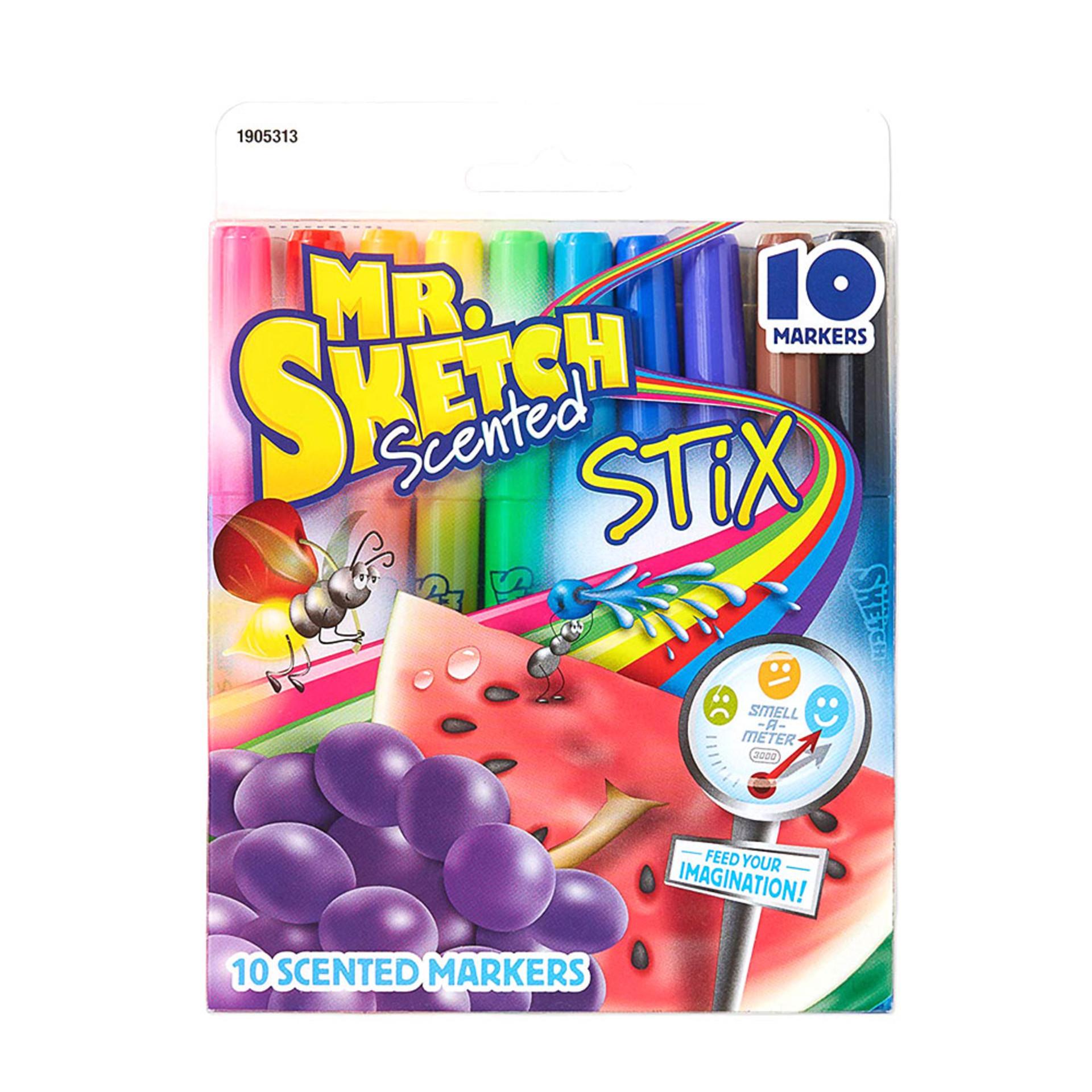 Mr. Sketch Scented Stix Watercolor Marker Set 10 piece