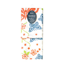 Native Northwest Butterfly & Rose by J.S.W. Spa Towels