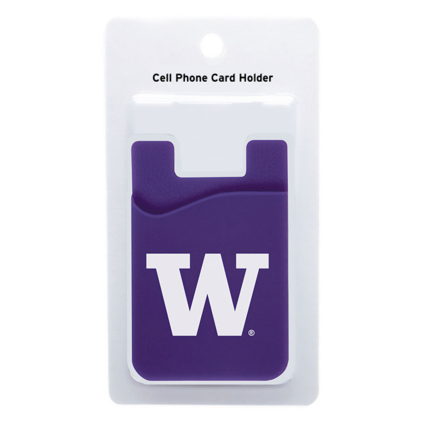 Neil Ent Purple W Cell Phone ID Holder