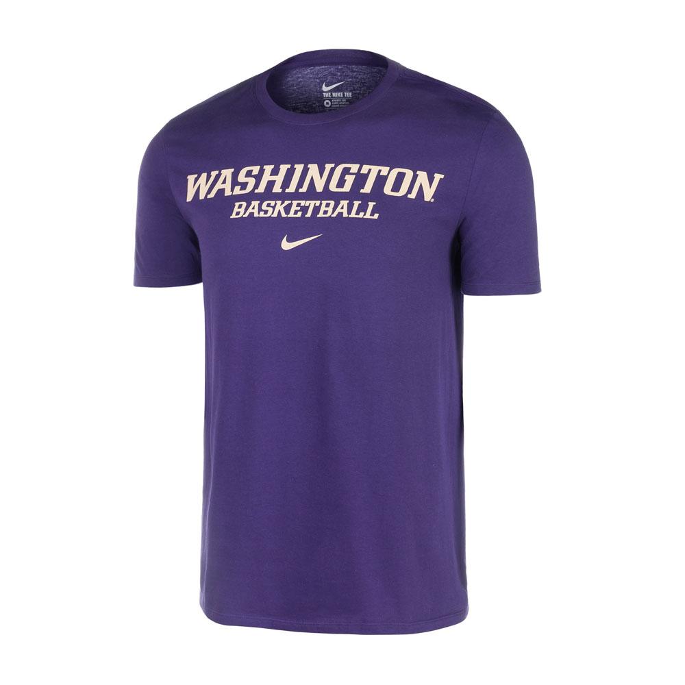 Nike Unisex Washington Huskies Basketball Tee