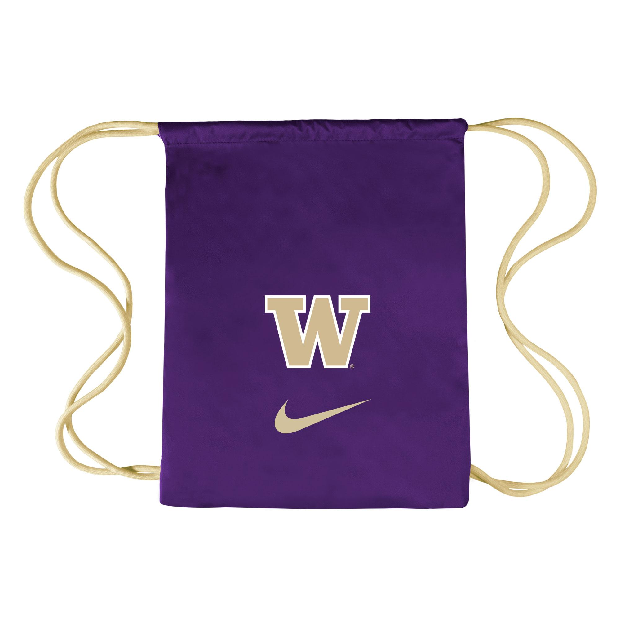 Nike Vapor Gym Bag Front. Nike Purple With Tan Straps W ... 7455887f348f6