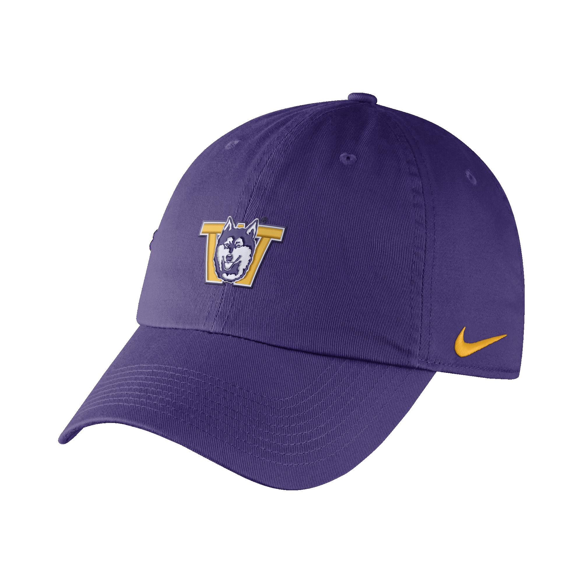 332ac5bf Nike Unisex Purple Vault Dog W Heritage 86 Adjustable Hat