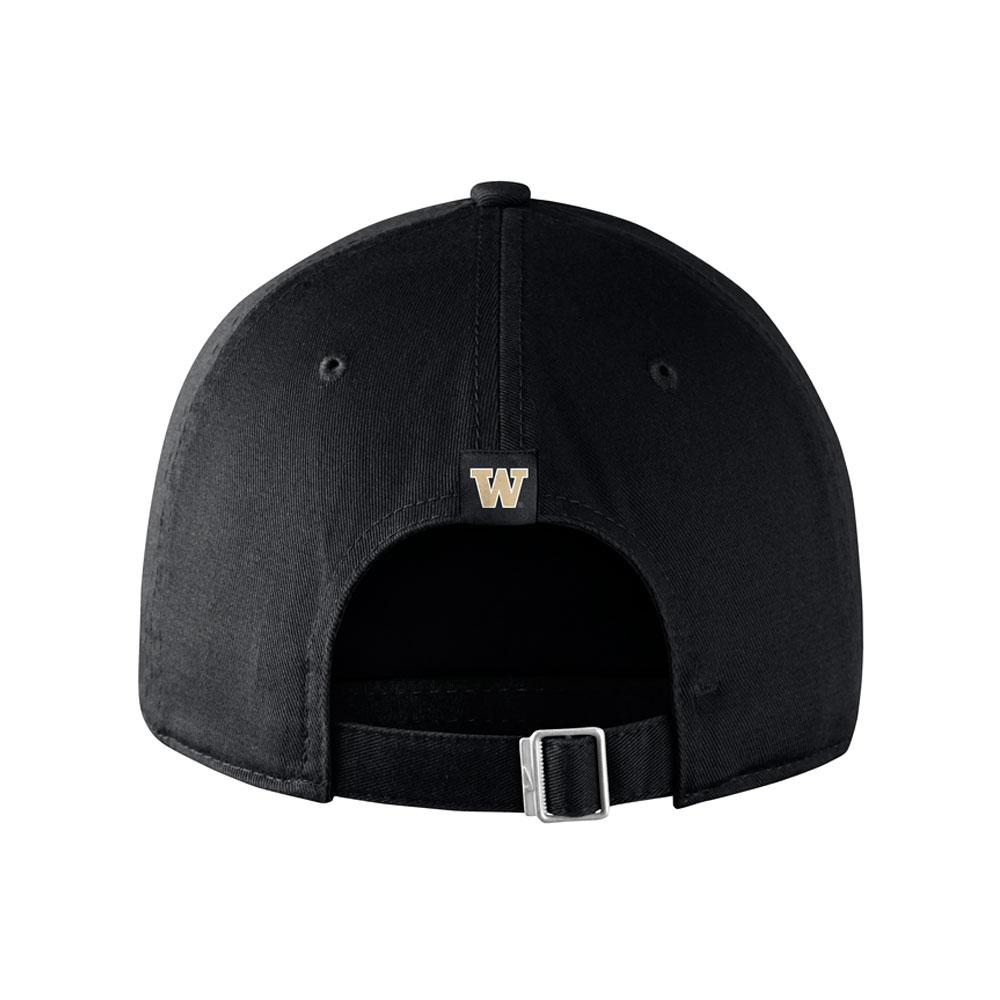 Nike Washington Heritage86 Buckle Hat Back Black 830788edc4b