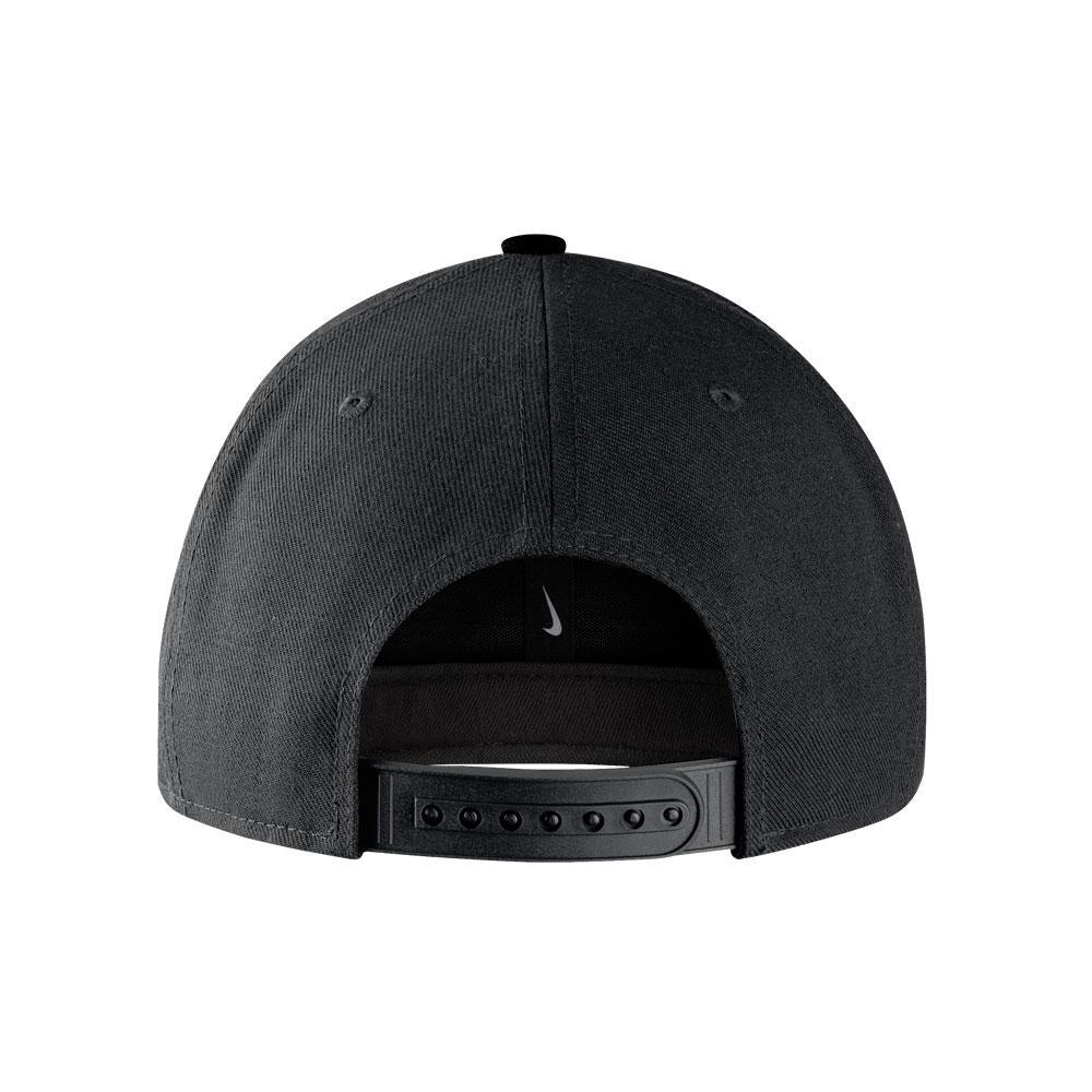 Nike Washington Huskies Snapback Hat Black Back