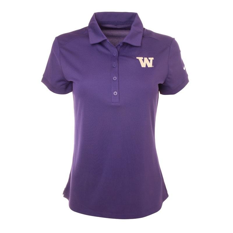 Nike Women's Purple W Golf Polo Shirt