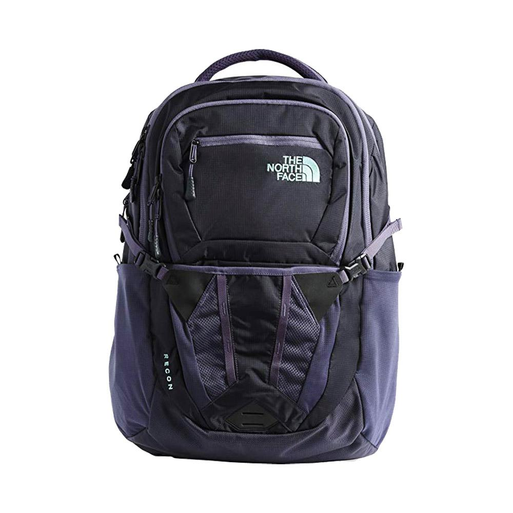 The North Face Recon Backpack Greystone/Mint Front