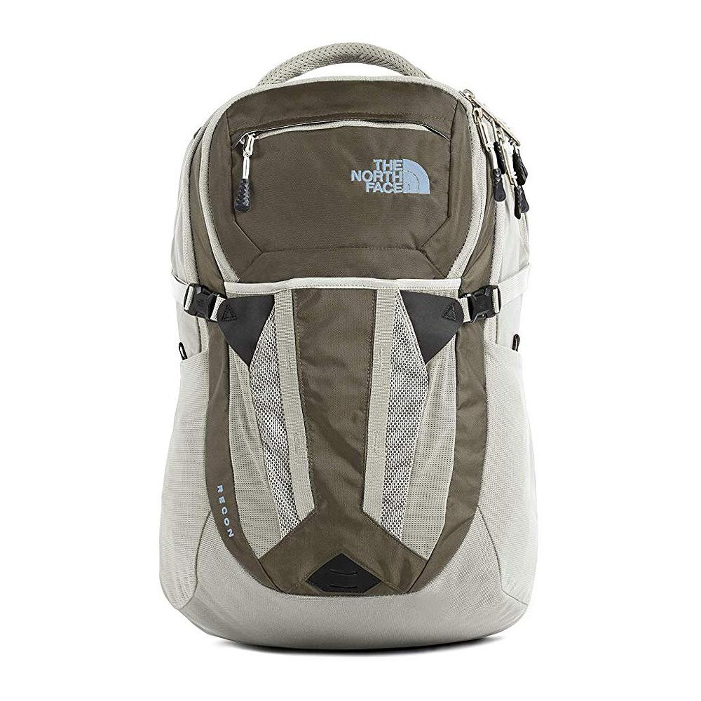 North Face Recon Backpack Weimaraner Brown/Dove Gray Front