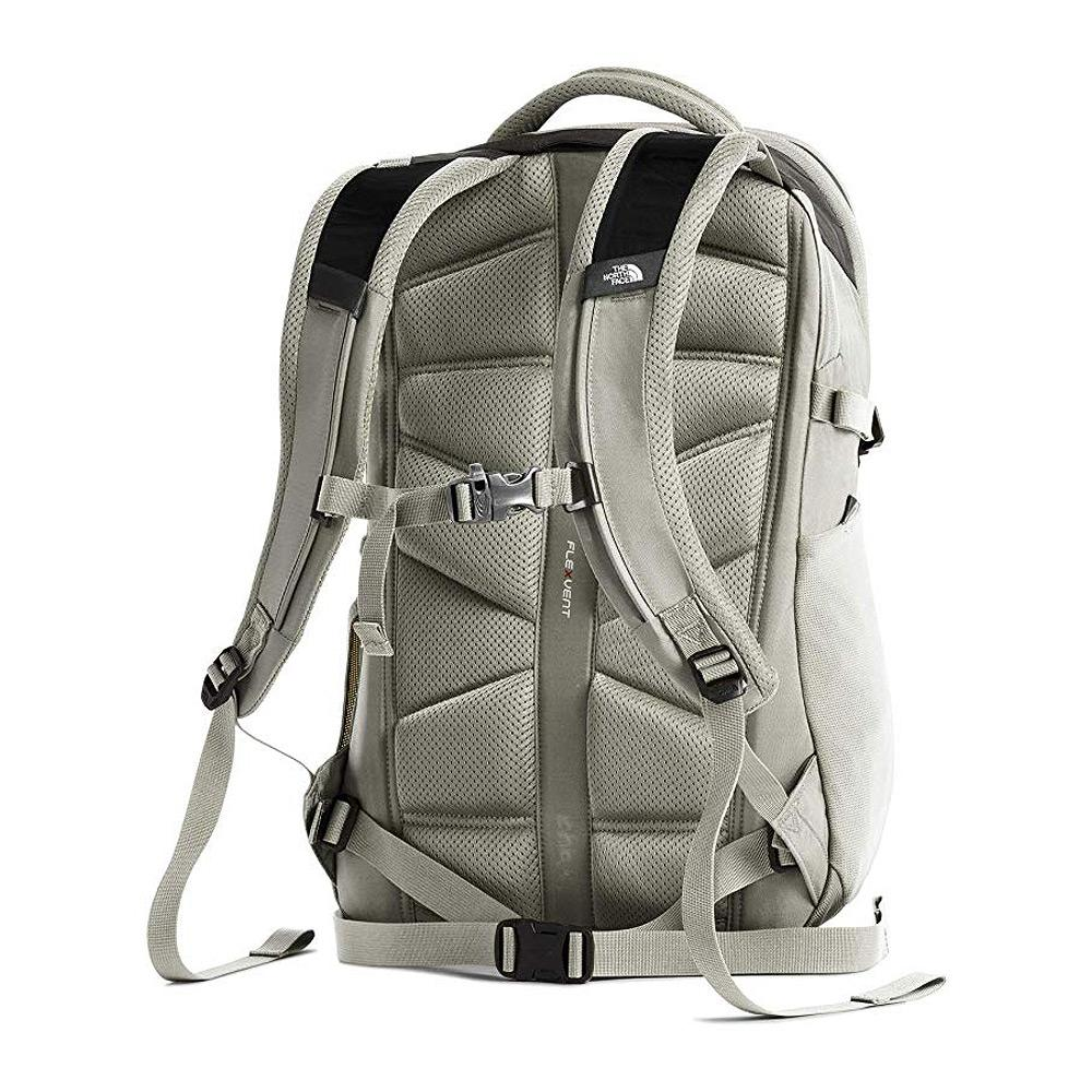 North Face Recon Backpack Weimaraner Brown/Dove Gray Back