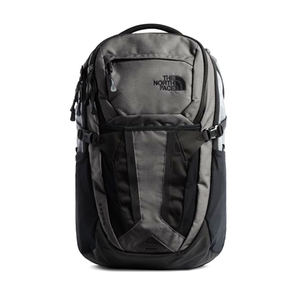 North Face Surge Dark Grey Heather/Asphalt Grey Backpack